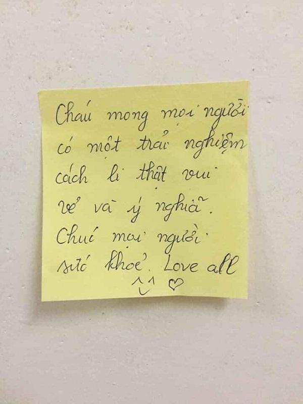 """Thức đến 2h sáng viết lời nhắn đến người cách ly, nữ sinh khiến dân mạng thốt lên """"đáng yêu quá"""" - Ảnh 8"""