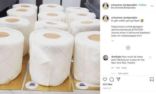 Tin tức đời sống mới nhất ngày 14/4/2020: Thoát cảnh phá sản nhờ sản xuất bánh nướng hình giấy toilet - Ảnh 1