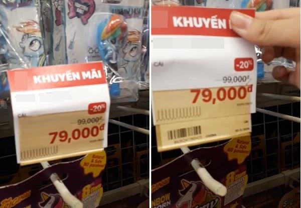 """""""Giận tím người"""" với màn bóc mẽ mánh khóe giảm giá 'nâng lên hạ xuống' ở siêu thị - Ảnh 1"""