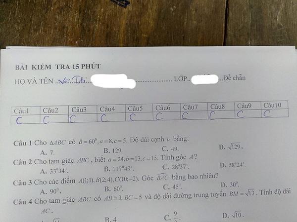 Quá căng thẳng, nữ sinh viết sai tên mình trong bài kiểm tra, nhưng ý nghĩa mới là điều bất ngờ - Ảnh 2