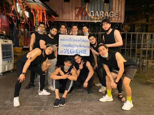 Quán ăn Thái Lan hút khách nhờ sở hữu dàn shipper toàn trai đẹp 6 múi - Ảnh 2