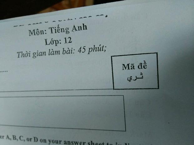 """Mã đề thi được giáo viên nâng trình lên vô cực, học sinh """"vã mồ hôi"""" tìm """"đồng bọn"""" - Ảnh 3"""