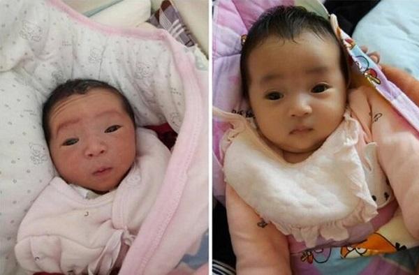 Mẹ phát khóc khi nhìn con mới sinh tím như củ khoai môn, ngoại hình sau 3 tháng mới là điều bất ngờ - Ảnh 3