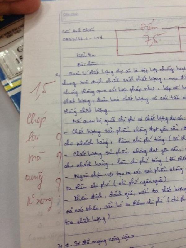 Nam sinh cuống quá hóa sai, nhưng lời phê bắt trend của cô giáo mới gây chú ý hơn cả - Ảnh 2