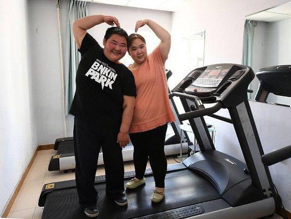 Cặp đôi kết duyên vì muốn cùng nhau giảm cân, thành quả sau vài năm khiến ai cũng giật mình - Ảnh 3