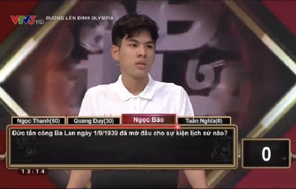 """Lại xuất hiện hotboy """"thanh xuân vườn trường"""" trên sóng Olympia: Đẹp trai, học giỏi, nói chuyện """"siêu ngọt"""" - Ảnh 6"""