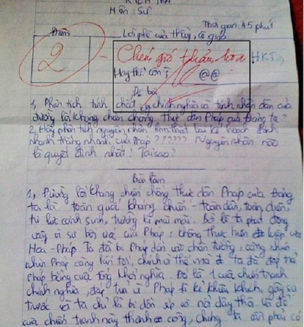 """Bài """"hoàn hảo"""" nhưng chỉ được 4 điểm, lời phê cực gắt của giáo viên khiến tất cả """"đứng hình"""" - Ảnh 5"""