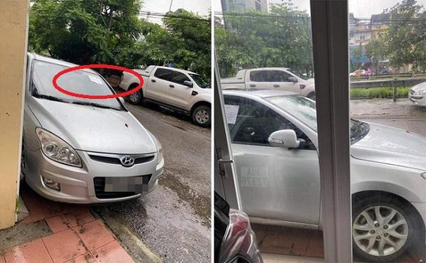 """Đậu xe không đúng chỗ rồi rời đi, tài xế """"tái mặt"""" với dòng chữ viết trên tờ giấy dán nơi kính xe - Ảnh 1"""