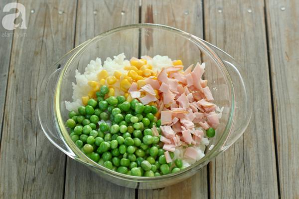Chỉ cần làm theo cách này, bạn có ngay món cơm cực ngon lại đẹp mặt cho bữa trưa - Ảnh 5