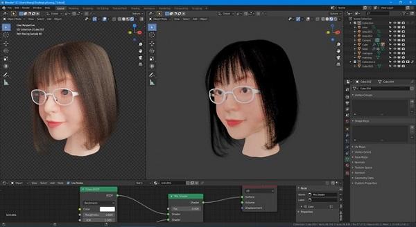 Bị phụ huynh dục đưa người yêu về, thanh niên ế lâu năm chế tạo bạn gái 3D xinh như mộng để đối phó - Ảnh 2