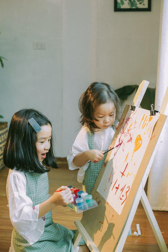 Lưu Hương Giang bất ngờ khoe ảnh 2 con gái lớn nhanh tới mức không nhận ra - Ảnh 2
