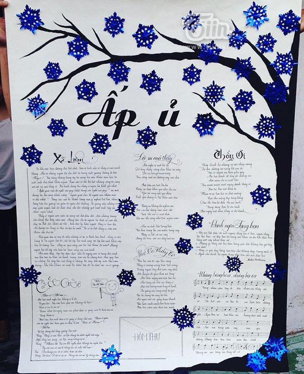 Những mẫu báo tường độc đáo và ý nghĩa nhất tri ân thầy cô ngày nhà giáo Việt Nam 20/11 - Ảnh 2