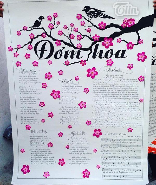 Những mẫu báo tường độc đáo và ý nghĩa nhất tri ân thầy cô ngày nhà giáo Việt Nam 20/11 - Ảnh 10