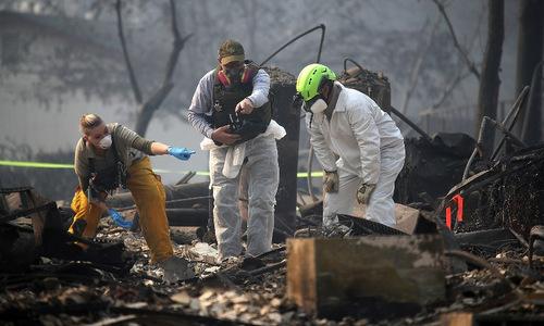 Thảm kịch cháy rừng ở California: Số nạn nhân mất tích tăng sốc tới 1276 người - Ảnh 1