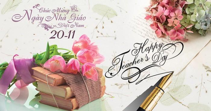 21 bức hình đẹp chúc mừng ngày nhà giáo Việt Nam 20/11 - Ảnh 12