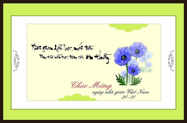 21 bức hình đẹp chúc mừng ngày nhà giáo Việt Nam 20/11 - Ảnh 16
