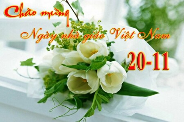 21 bức hình đẹp chúc mừng ngày nhà giáo Việt Nam 20/11 - Ảnh 21