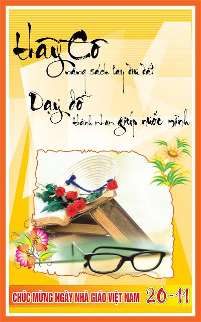21 bức hình đẹp chúc mừng ngày nhà giáo Việt Nam 20/11 - Ảnh 6