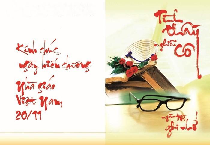21 bức hình đẹp chúc mừng ngày nhà giáo Việt Nam 20/11 - Ảnh 9
