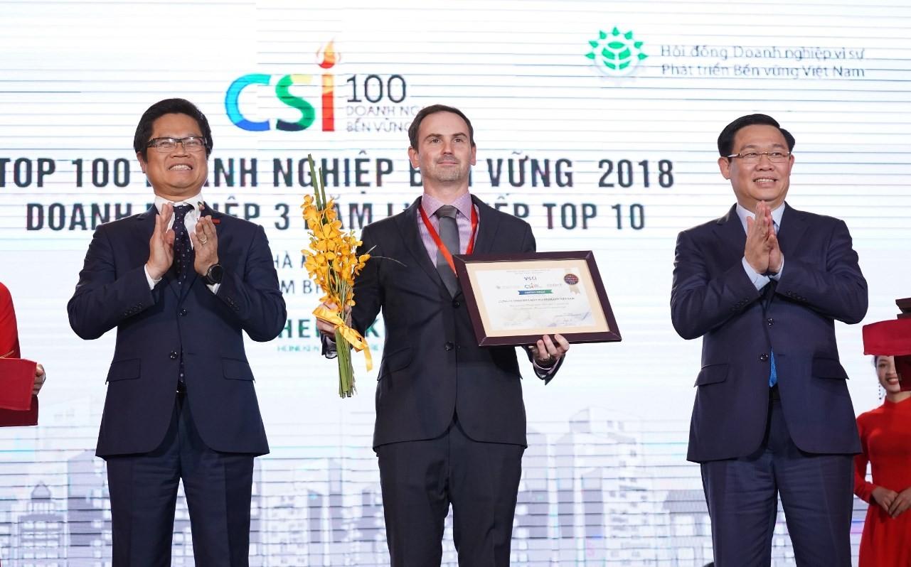 HEINEKEN Việt Nam được vinh danh là doanh nghiệp bền vững nhất Việt Nam năm thứ hai liên tiếp - Ảnh 1