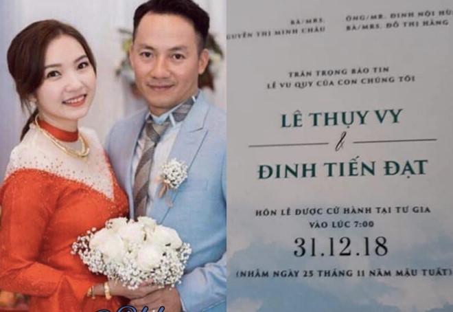 Lý do bất ngờ khiến Đinh Tiến Đạt in cả ảnh vợ sắp cưới lên hóa đơn quán cà phê - Ảnh 1