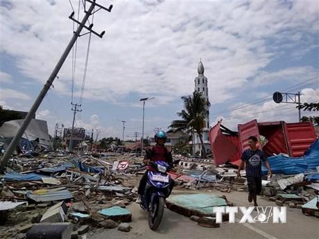 Động đất, sóng thần Indonesia: Chưa có tin người Việt thương vong - Ảnh 1