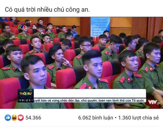 """Nam sinh ĐH Phòng cháy chữa cháy xuất hiện 2 giây trên sóng truyền hình """"hớp hồn"""" dân mạng - Ảnh 1"""
