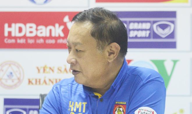 Trợ lý HLV Myanmar mất mặt vì khiêu khích Việt Nam nhưng lại để thua toàn tập - Ảnh 1