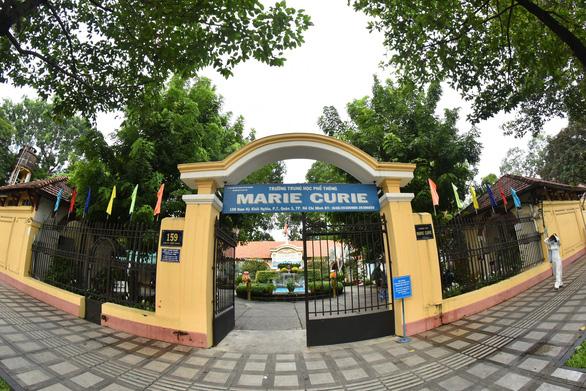 Hé lộ nguyên nhân 2 học sinh trường THPT Marie Curie bị chém - Ảnh 1