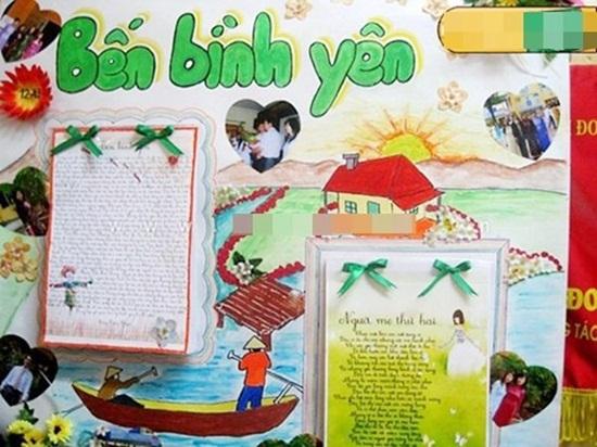 Cách làm báo tường đơn giản nhưng vẫn ấn tượng chào mừng ngày Nhà giáo Việt Nam 20/11  - Ảnh 3
