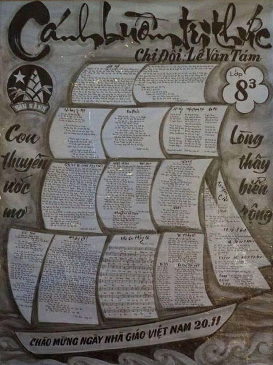 Cách làm báo tường đơn giản nhưng vẫn ấn tượng chào mừng ngày Nhà giáo Việt Nam 20/11  - Ảnh 6
