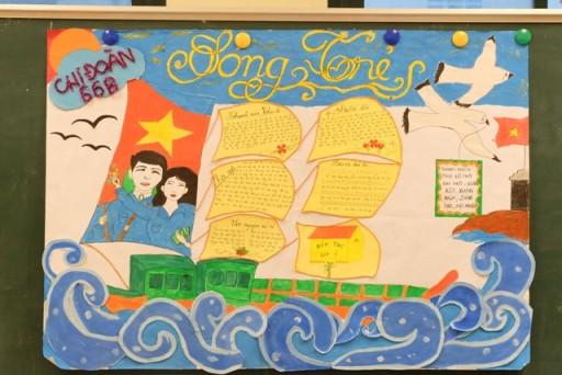 Top 12 mẫu báo tường ngày Nhà giáo Việt Nam 20/11 đơn giản, gấp đến mấy cũng làm kịp - Ảnh 11