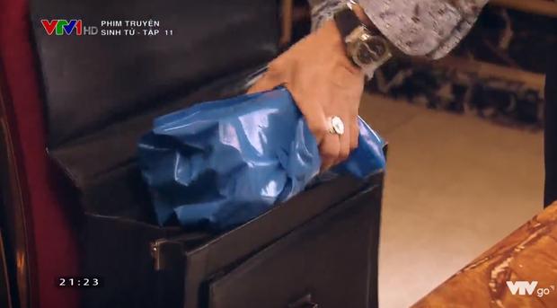 """Sinh tử tập 11: Vũ cao tay gửi """"quà mọn"""" vào túi của cảnh sát Thông - Ảnh 2"""