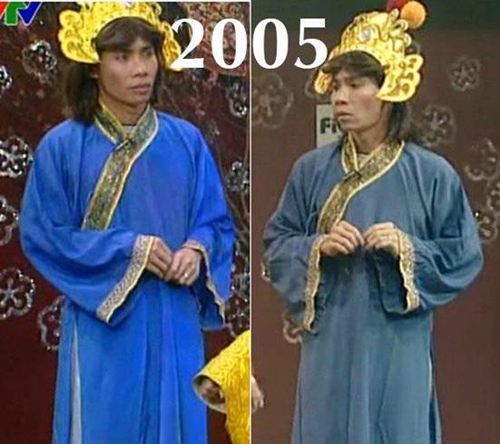 """Nhìn lại ngoại hình thay đổi đến ngỡ ngàng của """"cô Đẩu"""" trong 16 mùa Táo quân - Ảnh 3"""