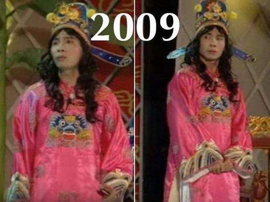 """Nhìn lại ngoại hình thay đổi đến ngỡ ngàng của """"cô Đẩu"""" trong 16 mùa Táo quân - Ảnh 7"""