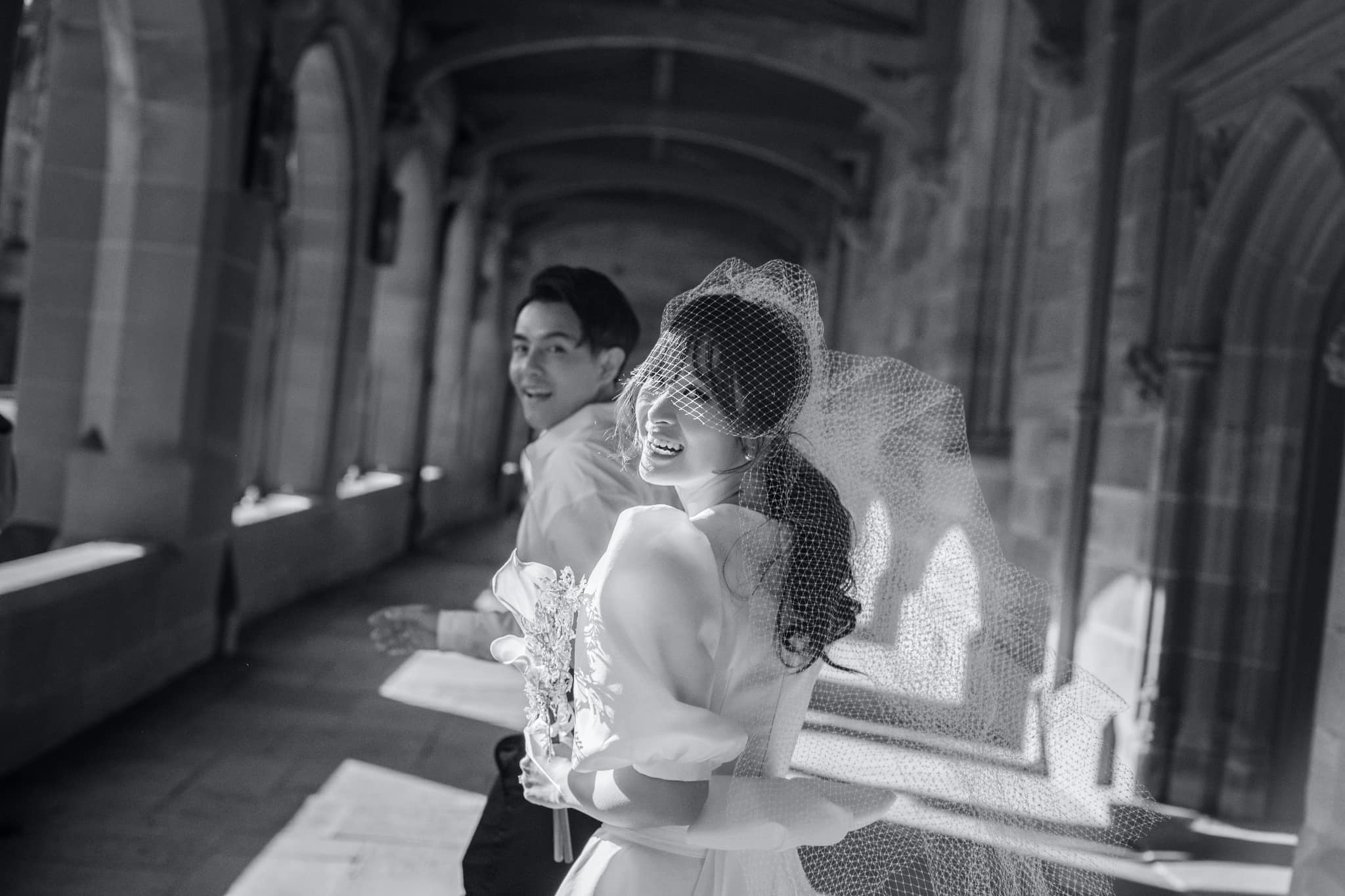 Ông Cao Thắng - Đông Nhi tung trọn bộ ảnh cưới đẹp lung linh tại Sydney - Ảnh 6