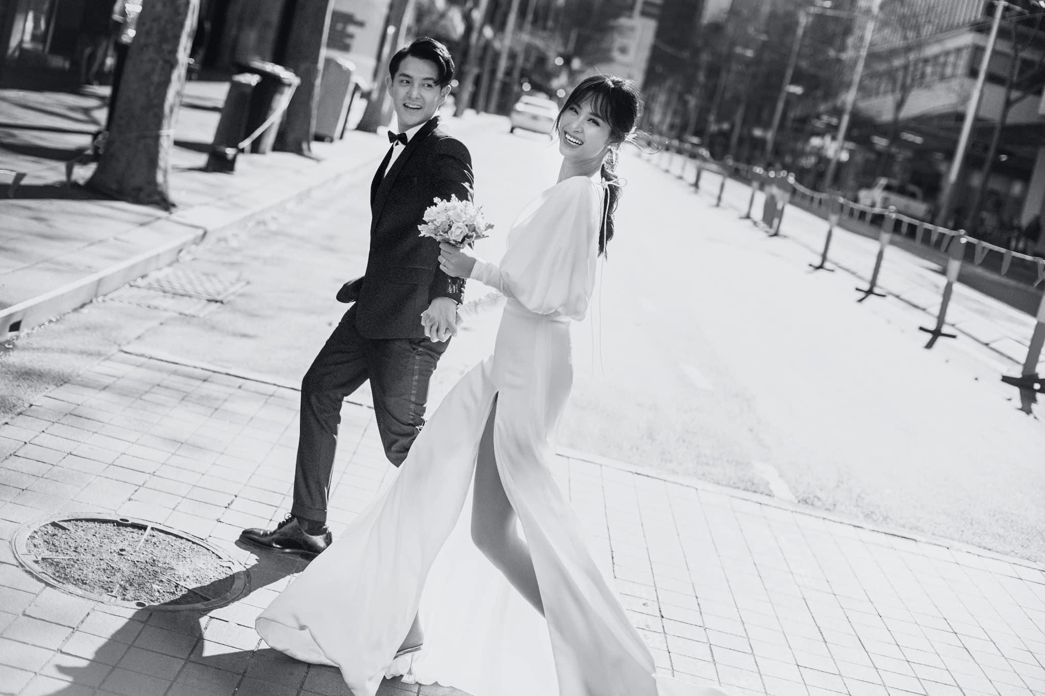 Ông Cao Thắng - Đông Nhi tung trọn bộ ảnh cưới đẹp lung linh tại Sydney - Ảnh 8
