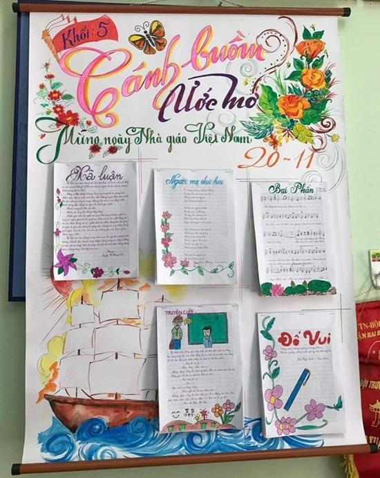 Top 10 mẫu báo tường đẹp độc lạ tri ân các thầy cô ngày 20/11 - Ảnh 10