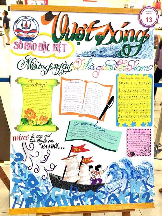 Top 10 mẫu báo tường đẹp độc lạ tri ân các thầy cô ngày 20/11 - Ảnh 6