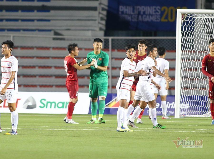 Công bố đội hình chính thức U22 Việt Nam đấu U22 Indonesia - Ảnh 1