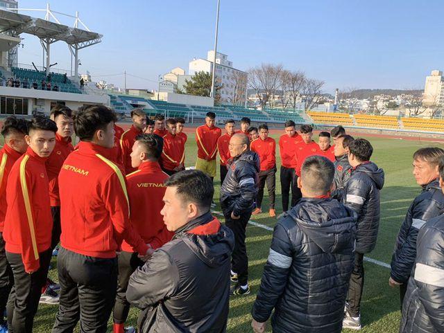 Thầy Park tiết lộ lý do U23 Việt Nam phải khổ luyện dưới thời tiết 5 độ C ở Hàn Quốc - Ảnh 6