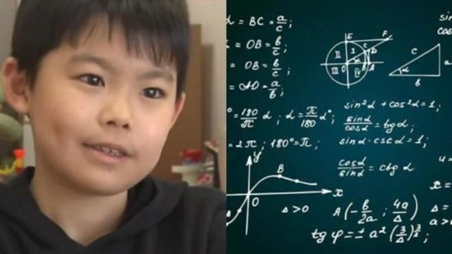 Giật mình cậu nhóc 9 tuổi làm được bài kiểm tra Toán đại học - Ảnh 1