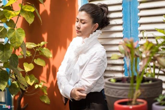 Nhan sắc khó lu mờ của diễn viên Kim Thư dù vất bả bán xôi sau 7 năm ly hôn - Ảnh 6