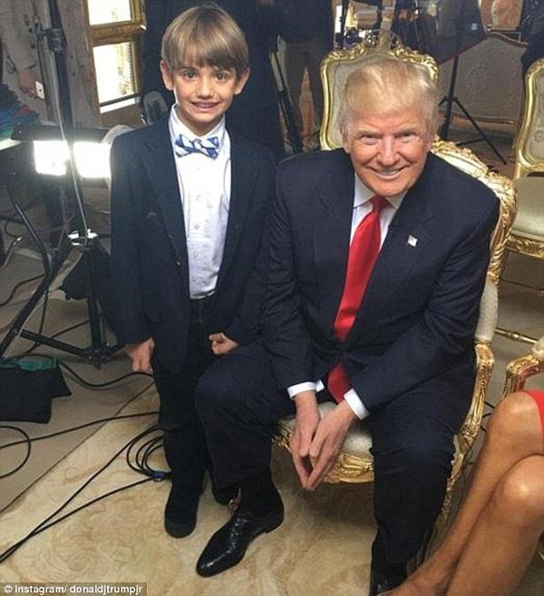Hình ảnh gây sốt của cô cháu gái út Tổng thống Trump tại nhà Trắng - Ảnh 4
