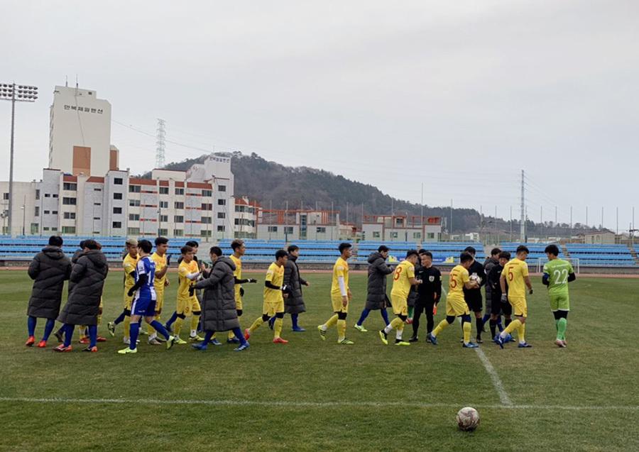 Thủ môn Bùi Tiến Dũng làm đội trưởng, U23 Việt Nam thắng đội hạng 3 Hàn Quốc - Ảnh 2
