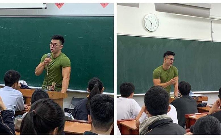 Thầy giáo sở hữu thân hình 6 múi, mặt đẹp như tượng tạc khiến dân mạng khó rời mắt - Ảnh 1