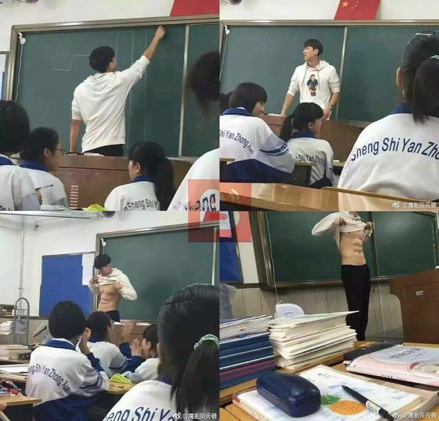 Thầy giáo sở hữu thân hình 6 múi, mặt đẹp như tượng tạc khiến dân mạng khó rời mắt - Ảnh 3