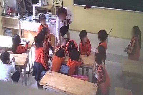 Vụ cô giáo bị tố bạo hành học sinh: Phụ huynh lén đặt camera trong lớp học - Ảnh 2