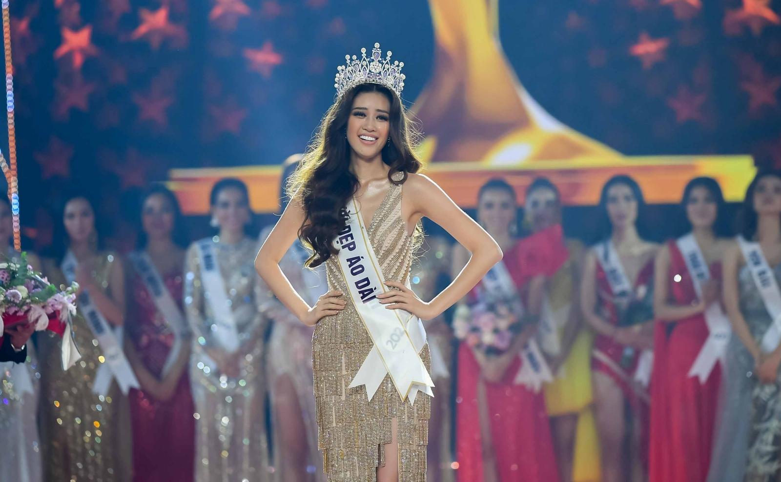 Bị chê ứng xử nhạt, tân Hoa hậu Hoàn vũ 2019 Khánh Vân nói điều bất ngờ - Ảnh 1