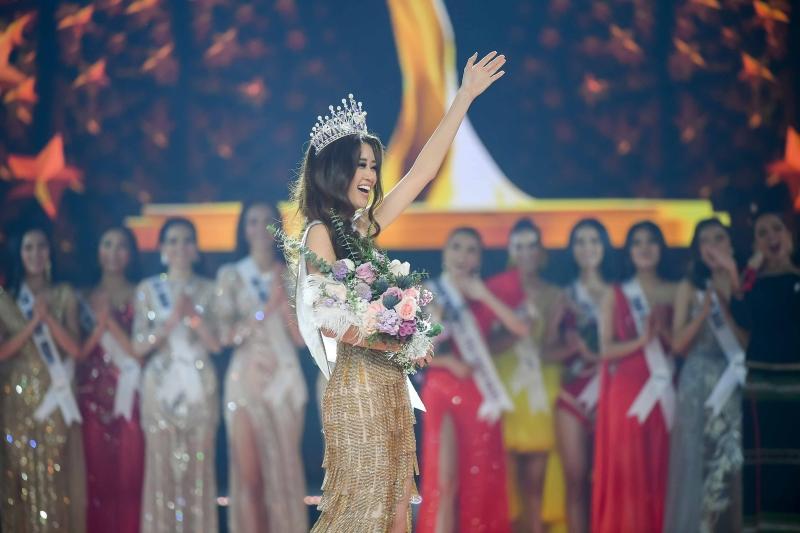 Bị chê ứng xử nhạt, tân Hoa hậu Hoàn vũ 2019 Khánh Vân nói điều bất ngờ - Ảnh 2